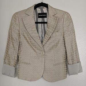Emporio Armani patterned blazer